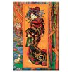 Buyenlarge Japanaiserie Oiran Painting Print on Wrapped Canvas