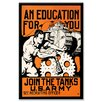 Buyenlarge An Education for You Vintage Advertisement on Wrapped Canvas