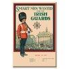 Buyenlarge Irish Guards Vintage Advertisement on Wrapped Canvas