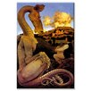 Buyenlarge 'The Reluctant Dragon' by Maxfield Parrish Painting Print on Wrapped Canvas
