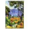 Buyenlarge A View through the Trees of Painting Print on Wrapped Canvas