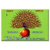 Buyenlarge W.D. Peacock Fancy Apples Graphic Art on Wrapped Canvas