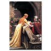Buyenlarge God Speed Fair Knight Painting Print on Wrapped Canvas