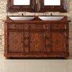 "James Martin Furniture Charleston 60"" Double Bathroom Vanity"