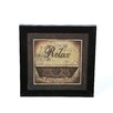 Timeless Frames Relax by Michele Deaton Framed Graphic Art