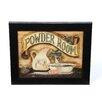Timeless Frames Powder Room by Becca Barton Framed Graphic Art
