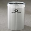 Glaro, Inc. RecyclePro Value Series 41-Gal Single Stream Industrial Recycling Bin