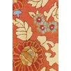 Herat Oriental Indo Floral Rust/Cream Area Rug