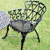 JJ International Heart Dining Arm Chair