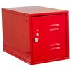 Hallowell Cubix 1 Tier 1 Wide Modular Locker with Louvered Door