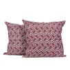 LJ Home Zigzag Print Throw Pillow (Set of 2)