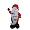 BZB Goods Big Beard Santa Claus Christmas Decoration