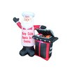 BZB Goods BBQ Santa Claus Christmas Decoration