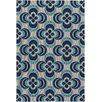 Artistic Weavers Joan Everston Navy Blue/Aqua Area Rug