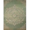 AMER Rugs Kimaya Hand-Knotted Green Area Rug