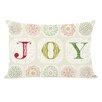 One Bella Casa Holiday Boho Joy Throw Pillow