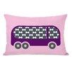 One Bella Casa Bus Lumbar Pillow