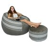 Big Tree Furniture Koala Foam Bean Bag Set