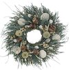 Urban Florals Summer Ocean Waves Wreath