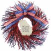 """Urban Florals Home Sweet Home 22"""" Natural Elements Wreath"""