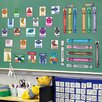 Mona Melisa Designs Educational Peel and Learn Colors & Shapes Wall Decal