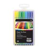 Bazic Color Washable Fiber Tip Pen (Set of 18)