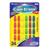 Bazic Neon Eraser Top (Set of 24)