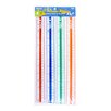 "Bazic 12""  Plastic Ruler (Set of 4)"