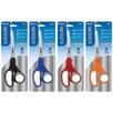 "Bazic 8"" Soft Grip Stainless Steel Scissors"