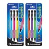 Bazic Electra 0.7 mm Fashion Color Mechanical Pencil with Gel Grip (Set of 3)