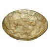 Dekorasyon Gifts & Decor Gold Flake Round Soap Dish