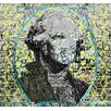 Carlyle Fine Art Figurative Cubed George by Jordan Carlyle Graphic Art