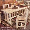 Rustic Natural Cedar Furniture Cedar Harvest Family Dining Table