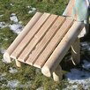 Rustic Natural Cedar Furniture Cedar Log Ottoman