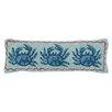 Peking Handicraft Nautical Hook Three Crabs Lumbar Pillow