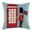 Peking Handicraft Phone Booth Wool Throw Pillow