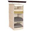 Richards Homewares Nature of Storage Canvas Natural3 Shelf Sweater Organizer