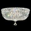 TheWatsonShop Petit Crystal Deluxe 5 Light Flush Mount