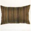 Dakotah Pillow Bar Codes Knife Edge Lumbar Pillow (Set of 2)