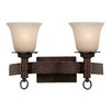 Kalco Americana 2 Light Bath Vanity Light
