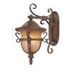 Kalco Tudor 3 Light Wall Lantern