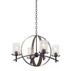 Kalco Irvine 4 Light Candle Chandelier