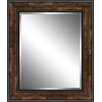 Ashton Wall Décor LLC Wood Framed Beveled Plate Glass Mirror