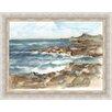 Ashton Wall Décor LLC Coastal Watercolor VI Framed Painting Print