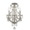 Crystorama Maria Theresa 4 Light Semi Flush Mount