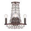 Crystorama Channing 3 Light Wall Sconce