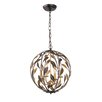 Crystorama Crystorama 4 Light Ceiling Pendant