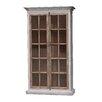 """White x White Mallory Vitrine 85"""" Standard Bookcase"""