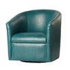 Comfort Pointe Draper Swivel Barrel Chair