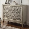 Coast to Coast Imports LLC 3 Drawer Chest in Harborton Wash Silver